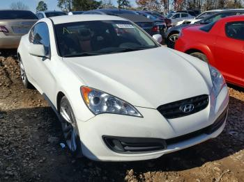 Salvage Hyundai Genesis Coupe